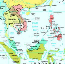 Map SE Asia
